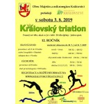královský triatlon 12 ročník - 2019